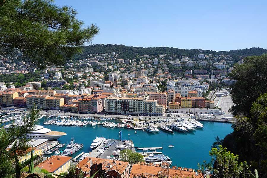 Niza, Costa Azul francesa