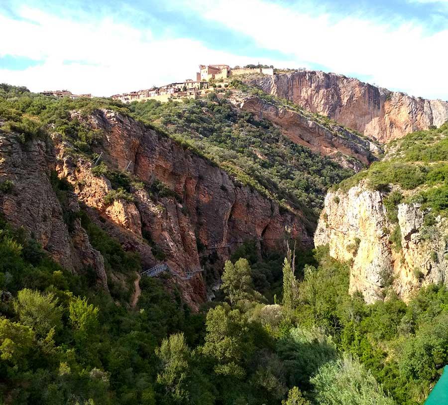 ruta_pasarelas_vero_alquézar_mirador