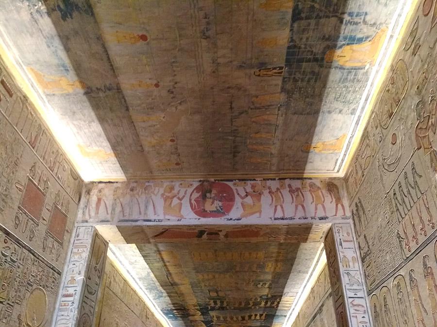Valle de los Reyes en Luxor, Egipto