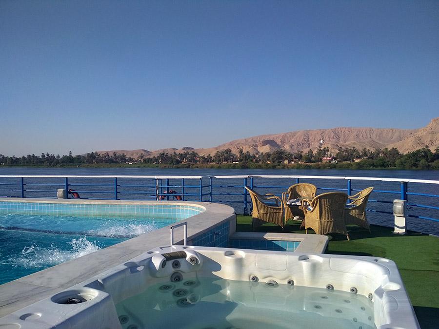 crucero en egipto