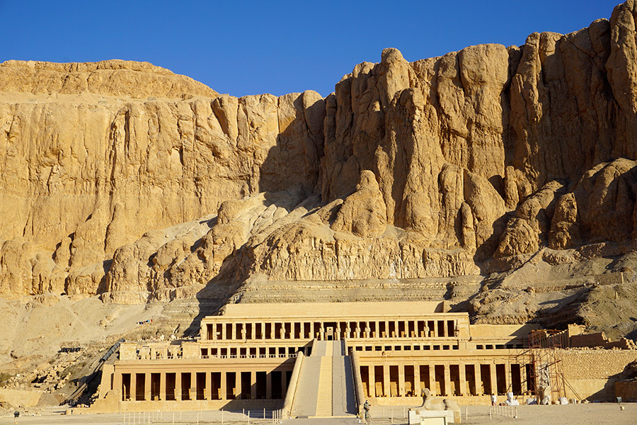 templo funerario de Hatshepsut