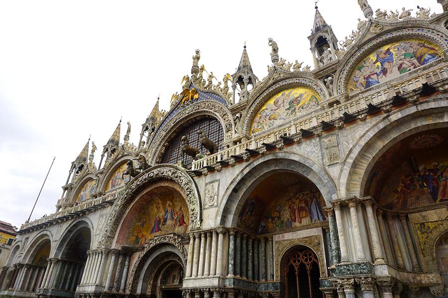 basilica de san marcos en venecia