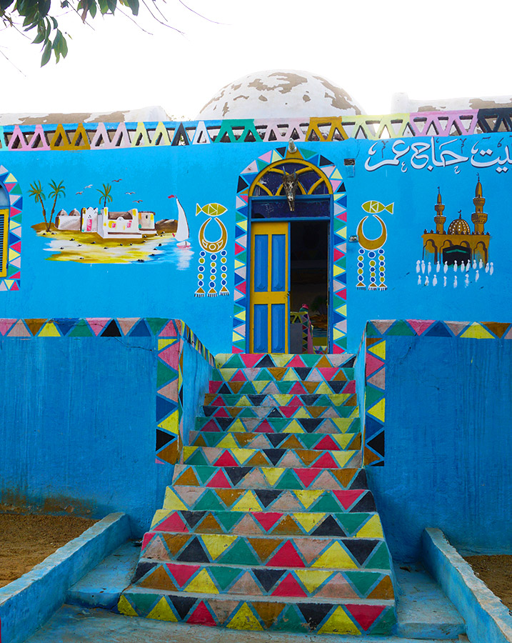 casa nubia en aswan