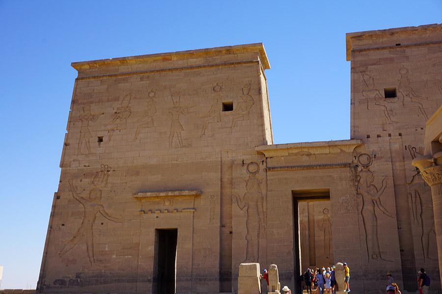 entrada al Templo de Philae