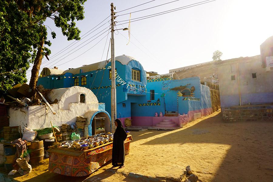 visita pueblo nubio en aswan