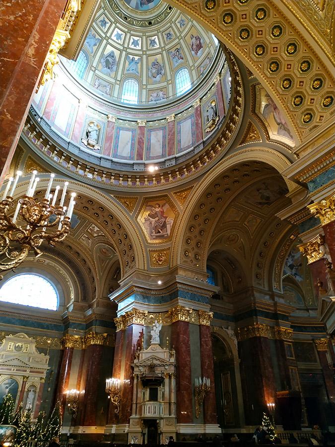 basilica de san esteban budapest por dentro