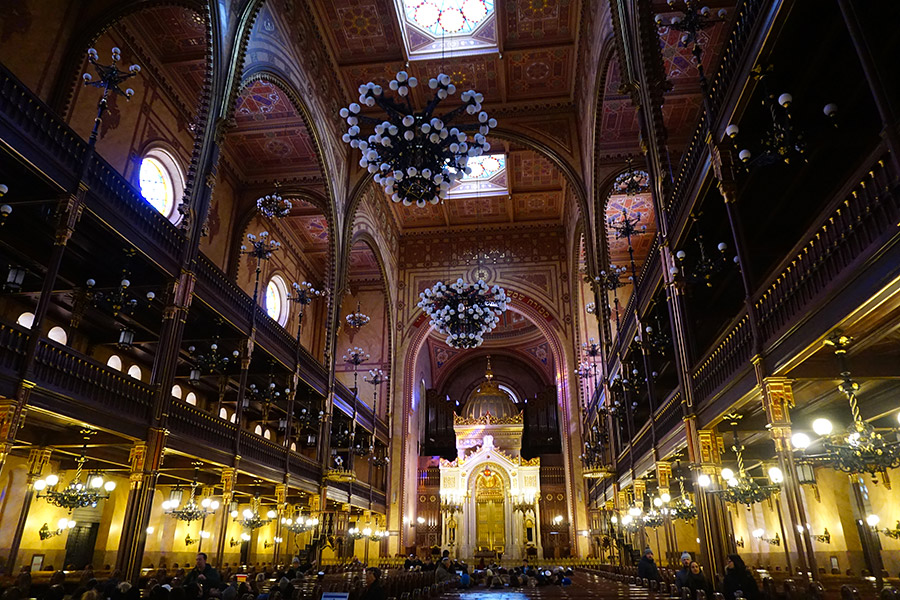 Gran Sinagoga judía de budapest
