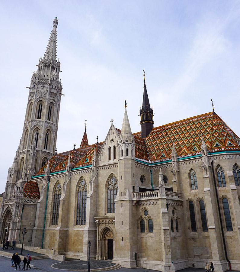 iglesia de matias budapest