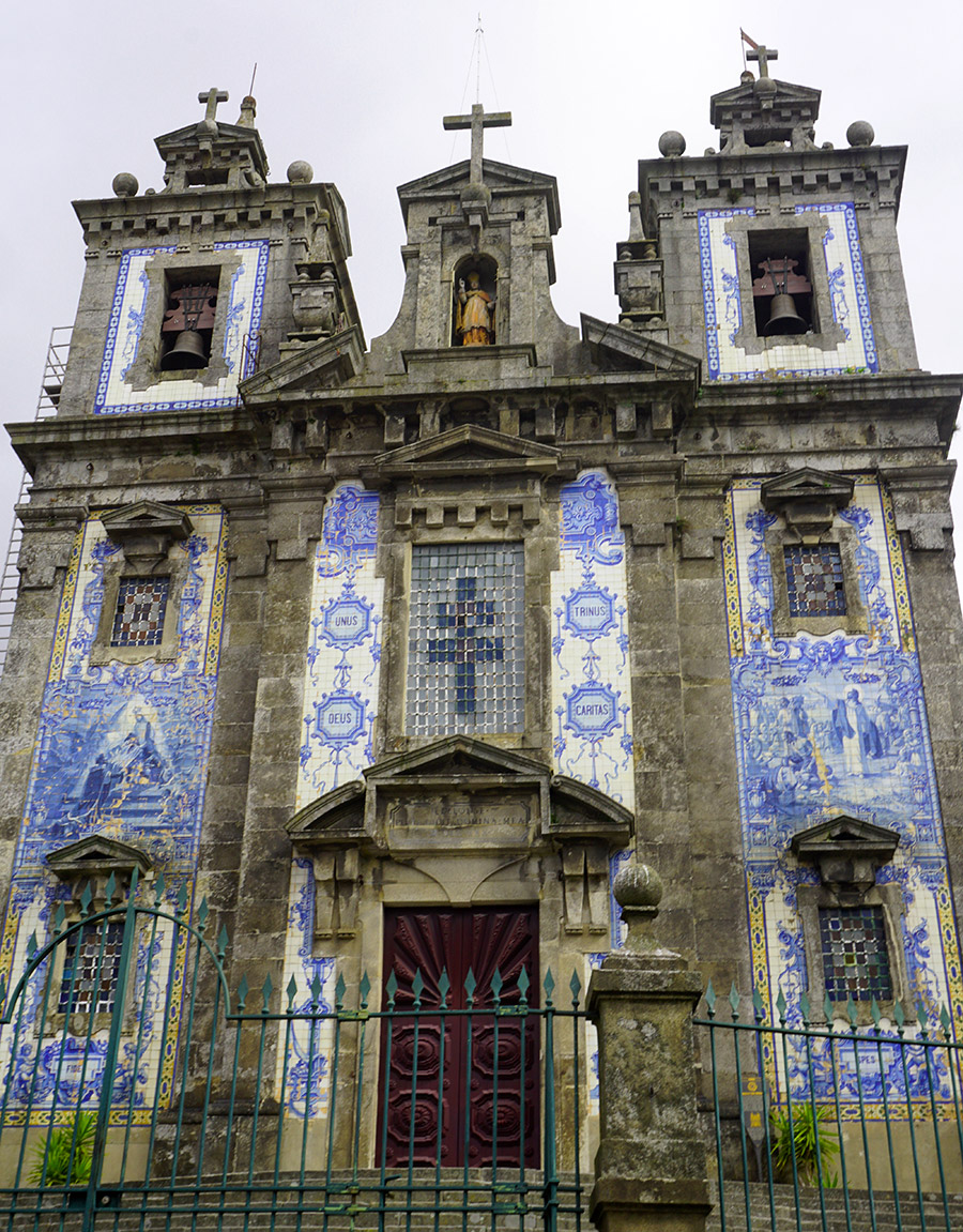Iglesia deSan Ildefonso oporto