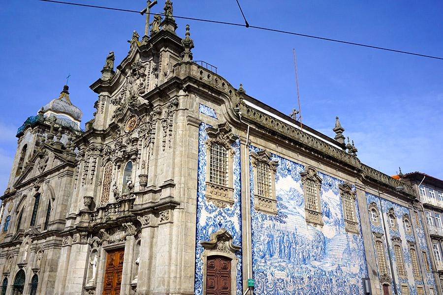 Igreja do Carmo oporto