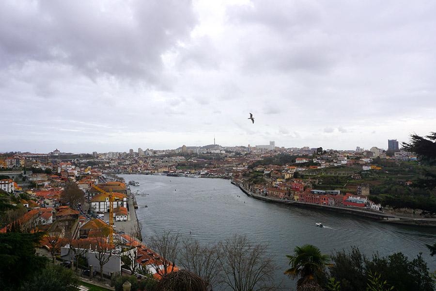 miradores bonitos en Oporto
