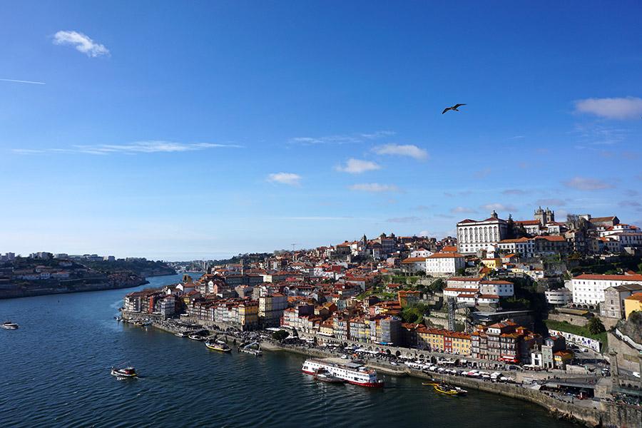 mejores miradores en Oporto