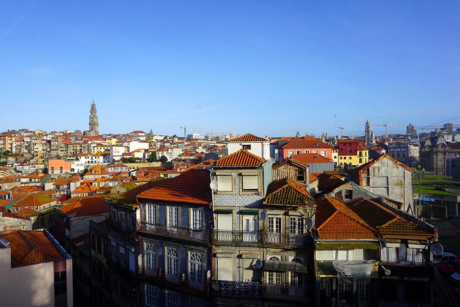sitios con mejores vistas Oporto