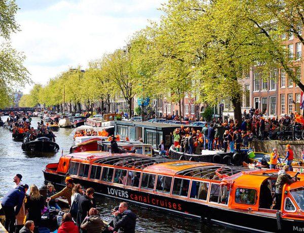 Koningsdag Día Rey en Holanda