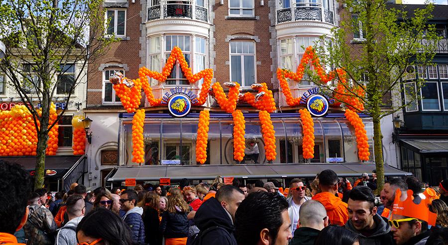 Koningsdag, el Día del Rey en Holanda