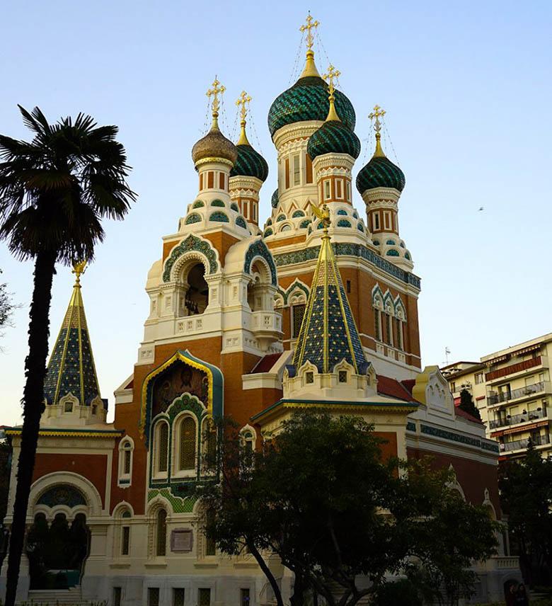 Catedral Ortodoxa Rusa, la Catedral de San Nicolás en Niza