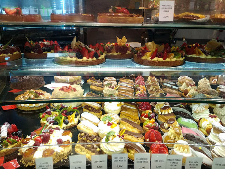 Comer en Niza