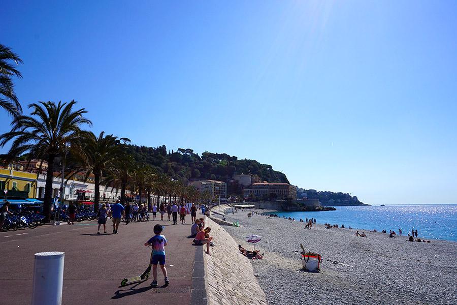 Paseo de los ingleses), el paseo marítimo de Niza
