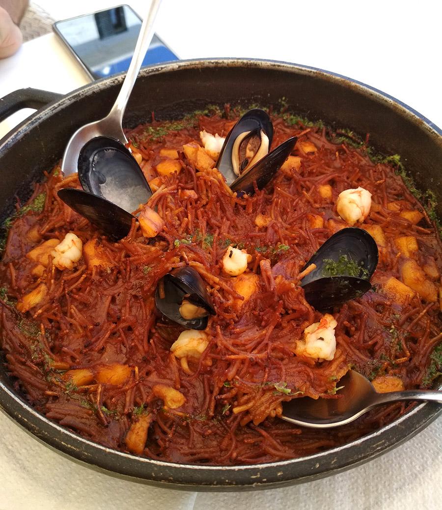 donde comer en Calella de Palafrugell