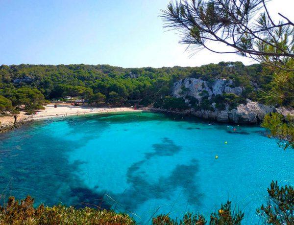 Las mejores calas de Menorca sur