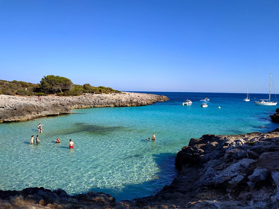 mejores calas de Menorca es talaier