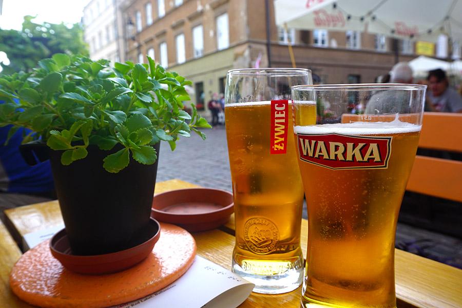 cerveza polaca tipica