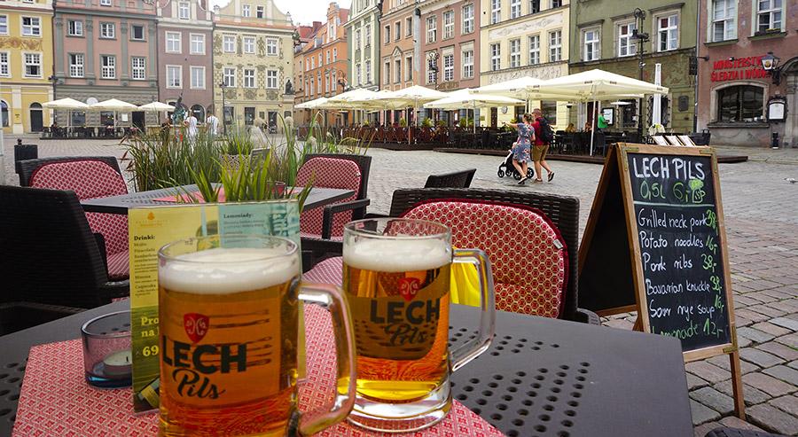 cerveza en polonia