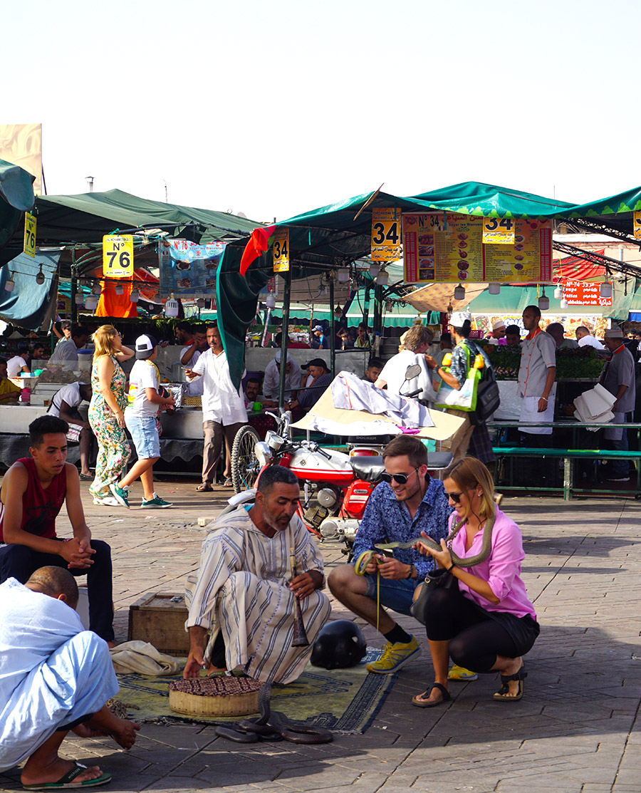plaza deJamaa el Fna