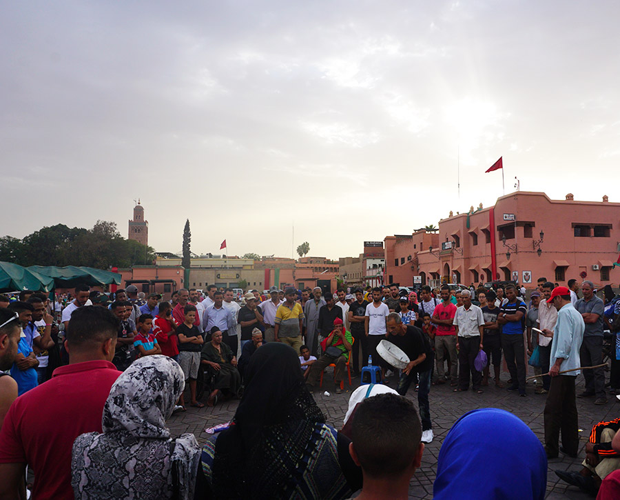 plaza deJamaa el Fna marrakech