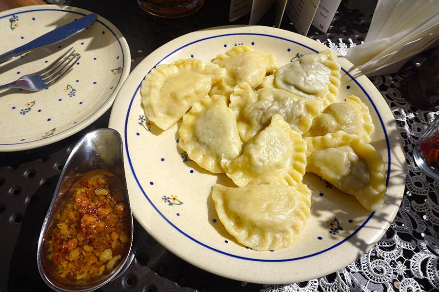 pierogi plato típico polonia