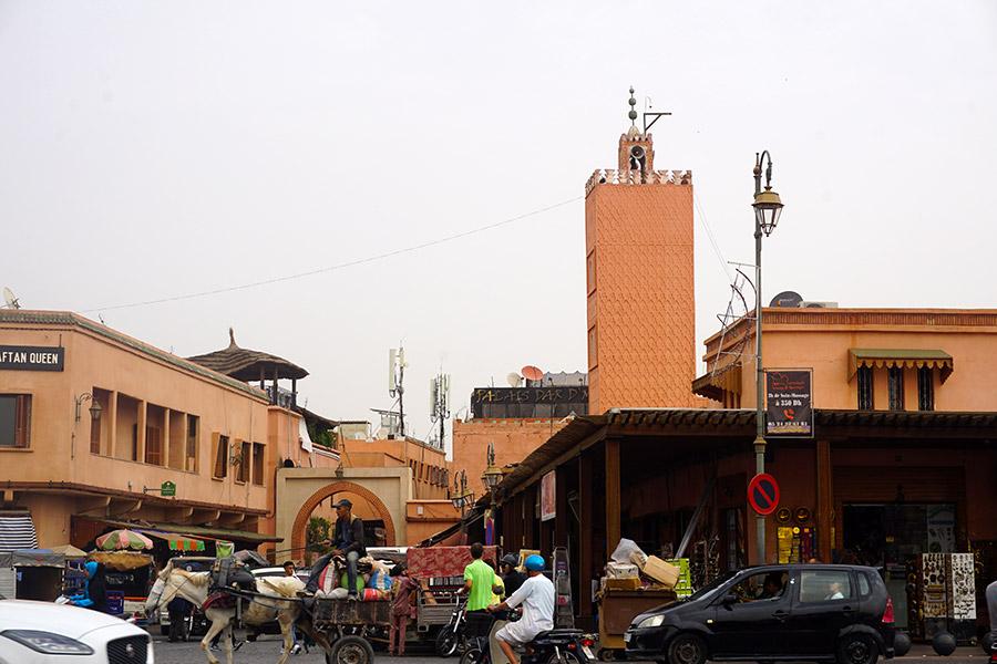 Plaza de los Hojalateros marrakech