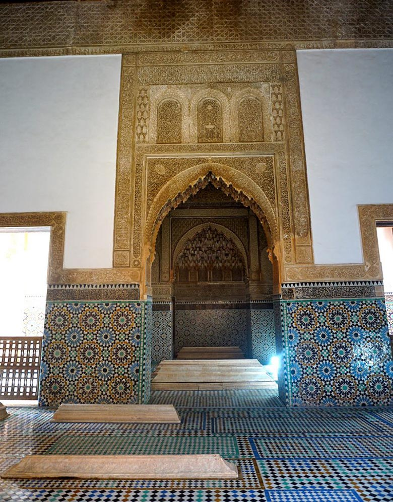 Tumbas Saadíes marrakech