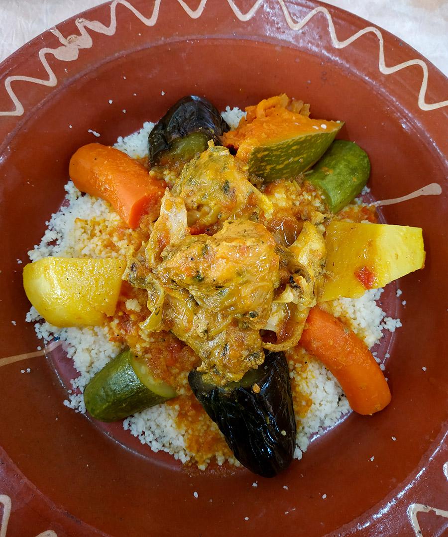 los platos típicos de Marruecos