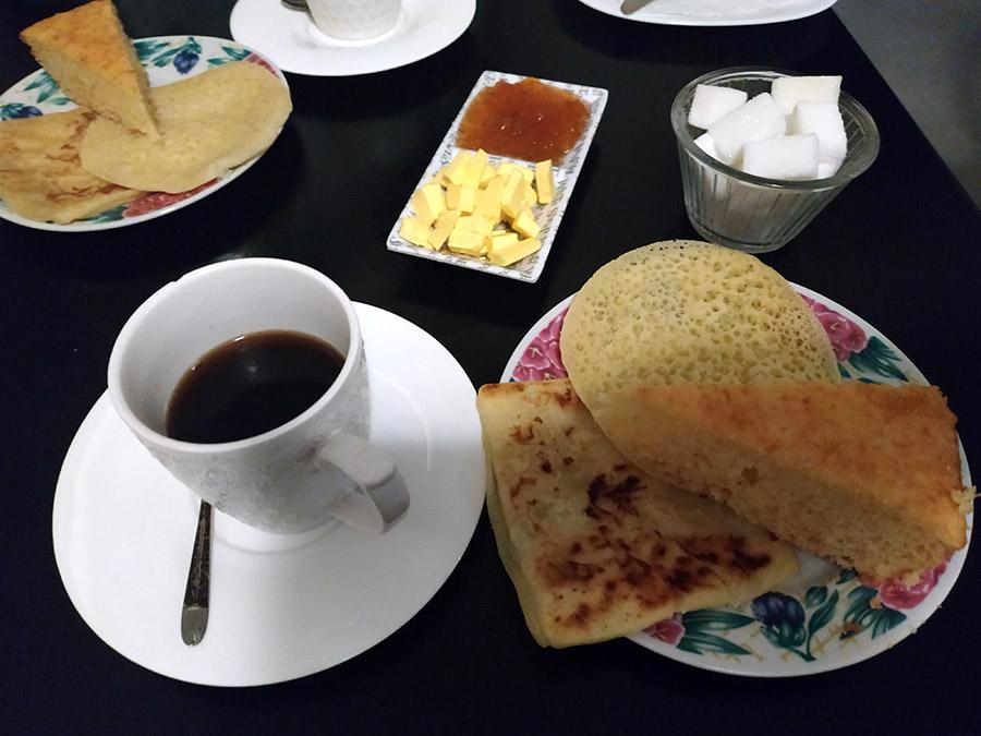 desayuno tipico marruecos