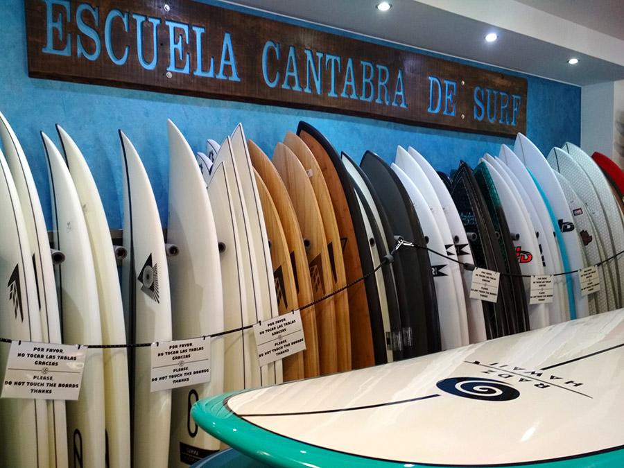 escuela de surf en Santander