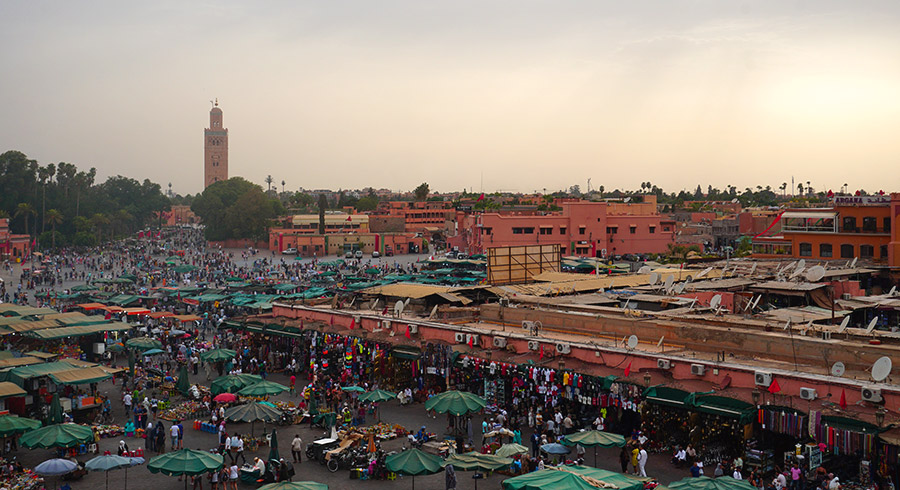 mejores azoteas de marrakech