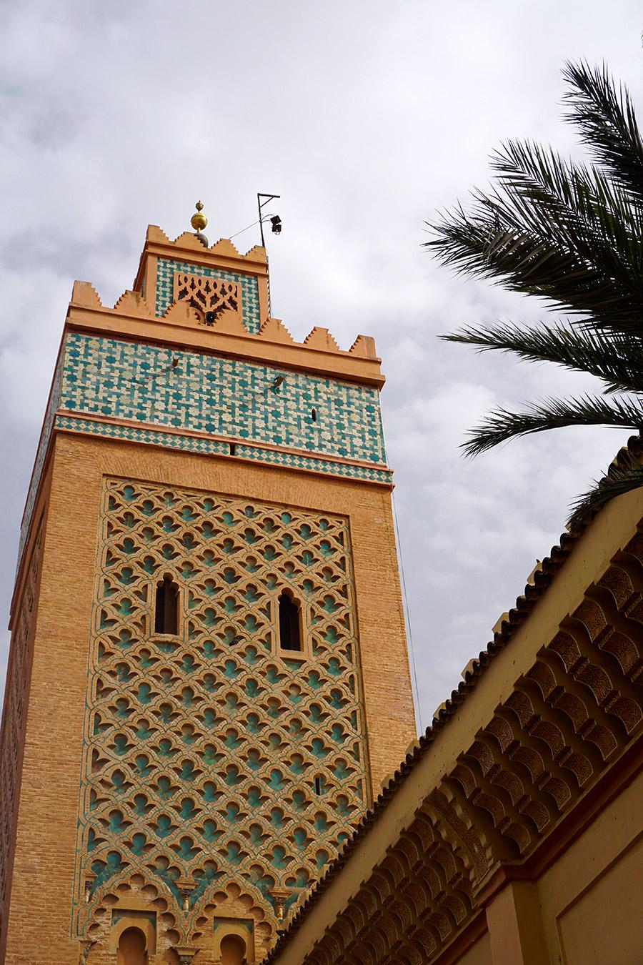 mezquita de la Kasba marrakech