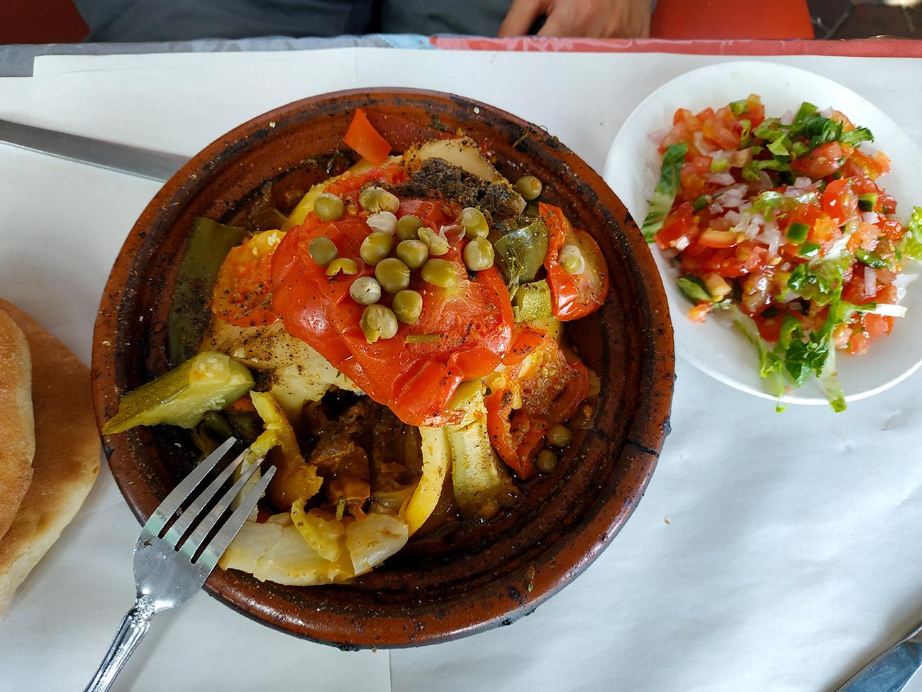 platos típicos de Marruecos