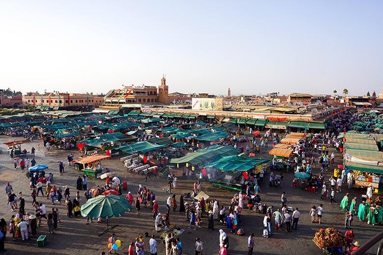 plazadeJamaa el Fna marrakech