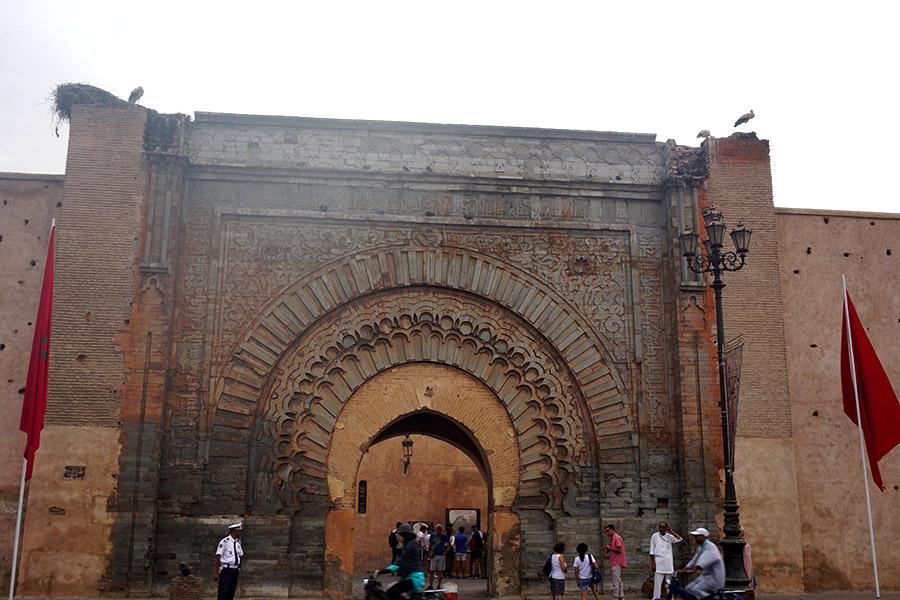 puertaBab Agnaou marrakech