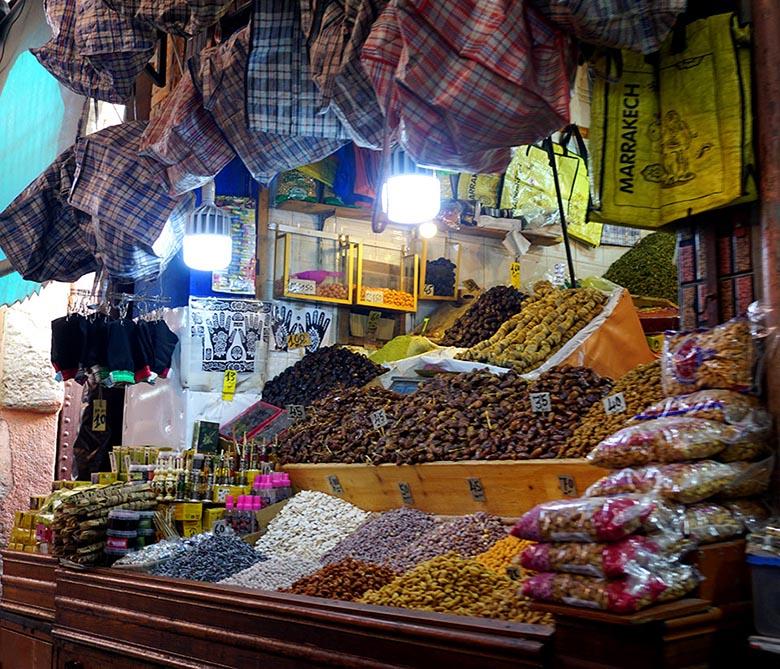 zoco marrakech comidas
