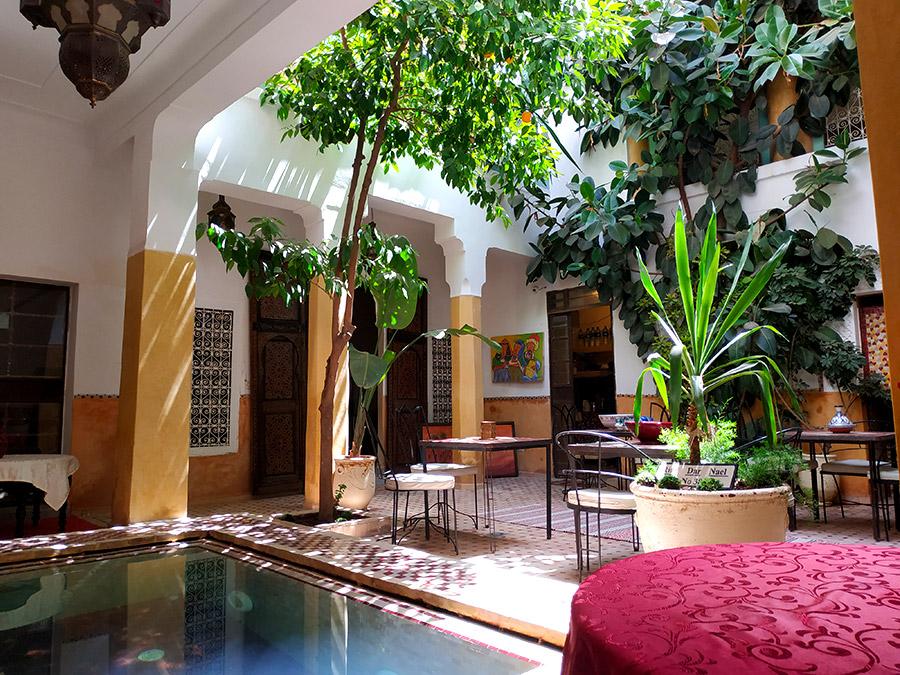 riad típico Marruecos
