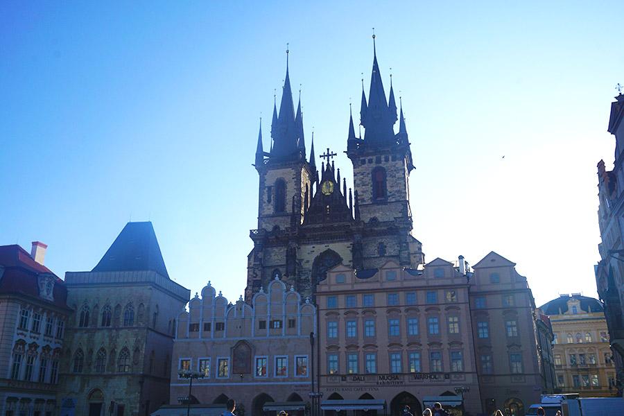 Iglesia de Týn praga