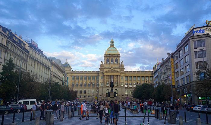 Plaza de Wenceslao praga