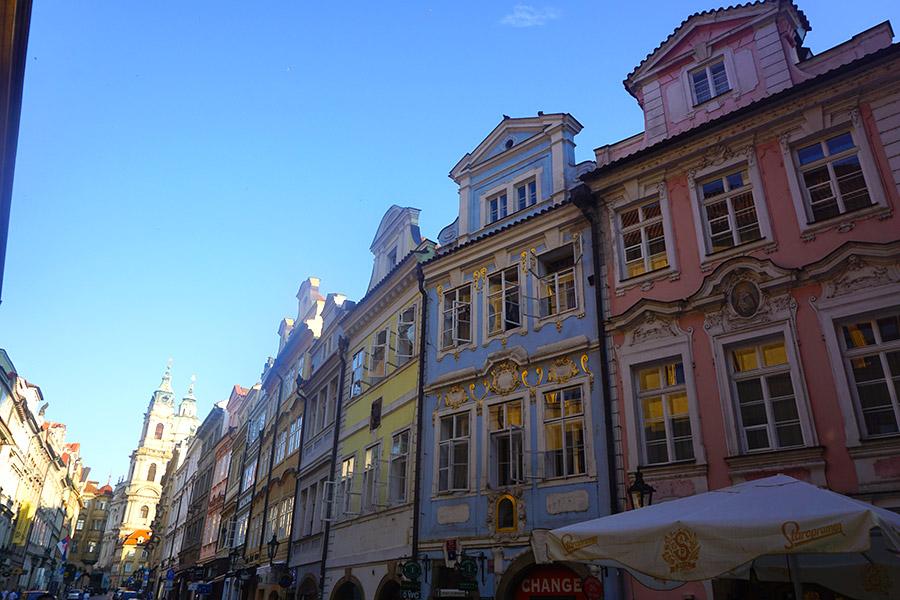 calle Mostecká praga
