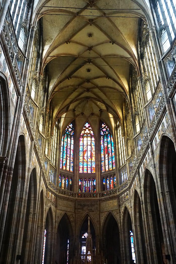 interior Catedral de San Vito praga