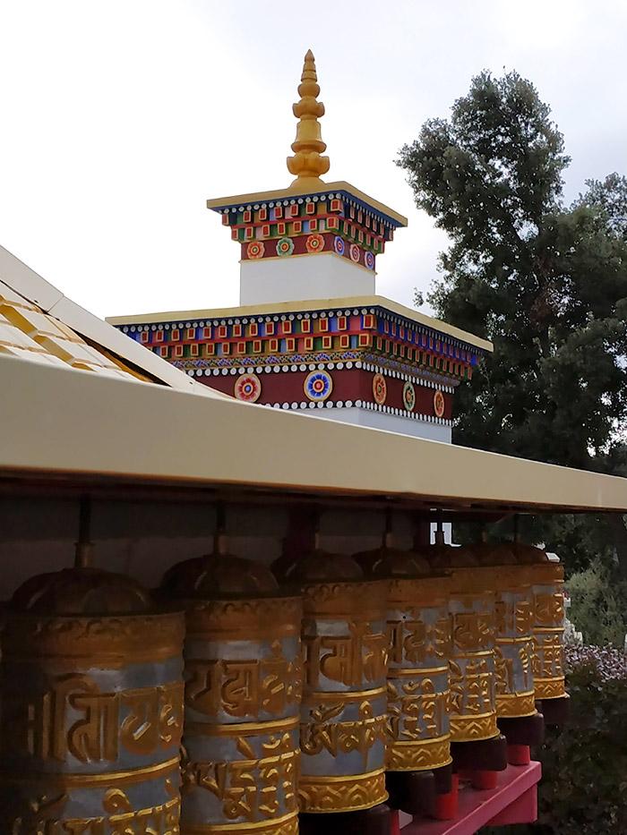como llegar templo budista huesca