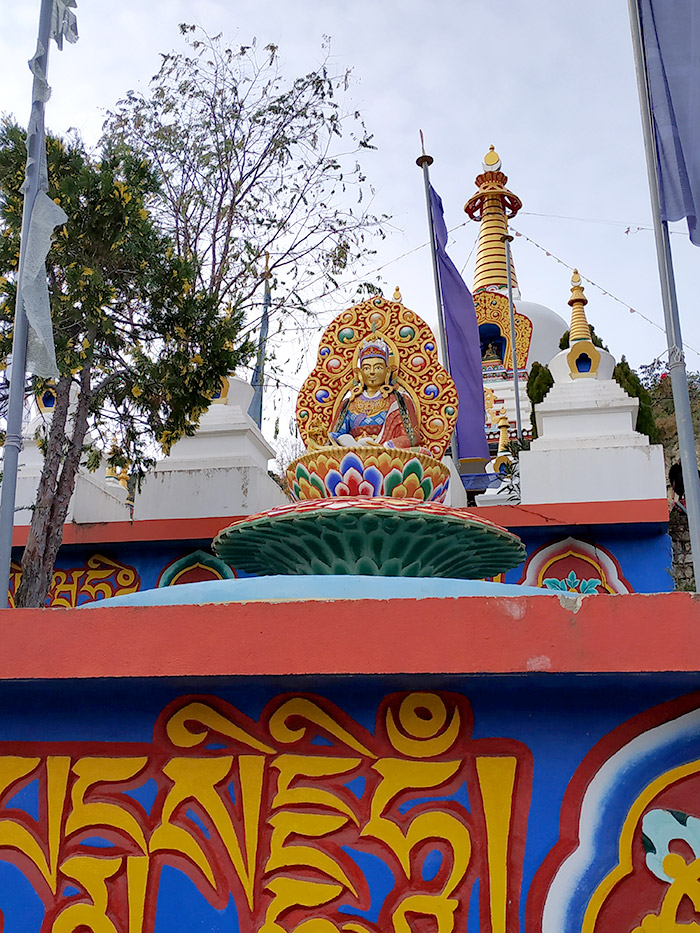 como llegar al templo budista de panillo