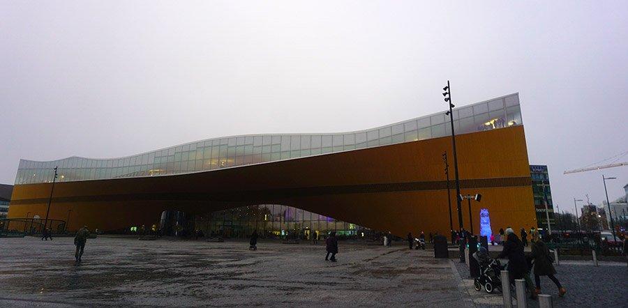 Biblioteca central Oodi