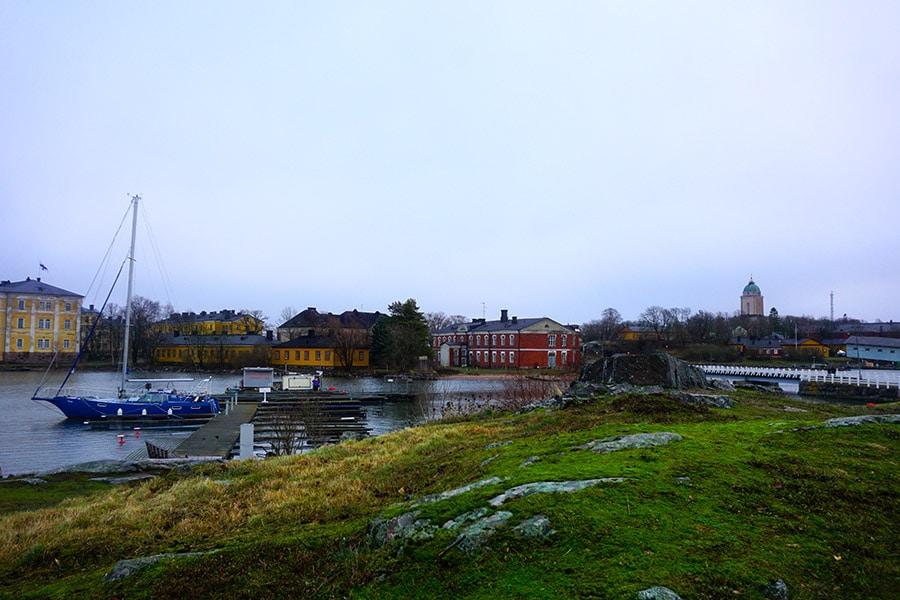 Isla de Suomenlinna helsinki